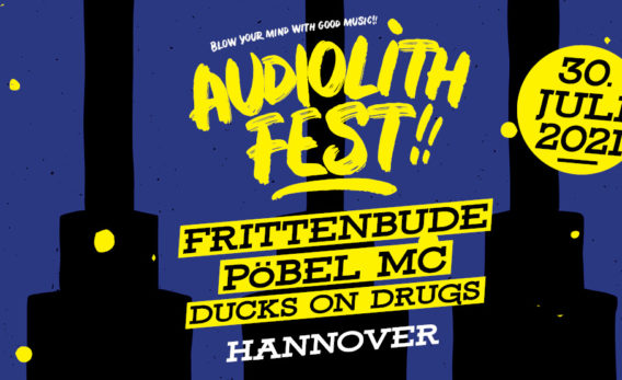 Audiolith Fest in Hannover mit Frittenbude, Pöbel MC & Ducks on Drugs